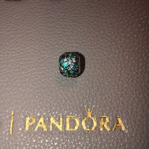 Authentic Pandora Ocean Mosiac pave' charm